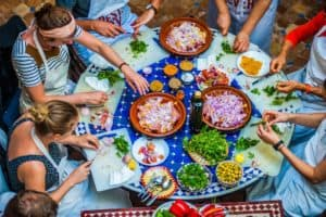 Prepare a delicious Moroccan meal